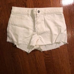 H&M Cutoff Denim Shorts